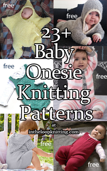 Baby Onesie and Romper Knitting Patterns