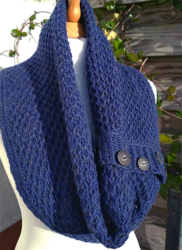 Free Until Dec. 24 2017 Sul Cowl Knitting Pattern