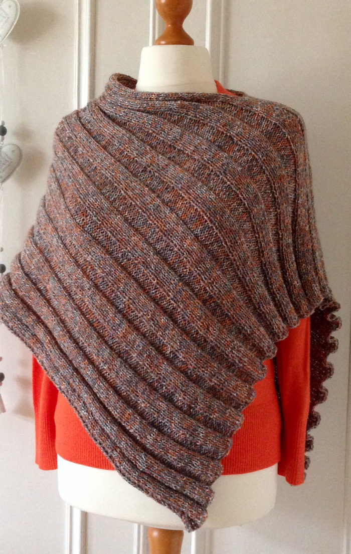 Easy Poncho Knitting Patterns | In the Loop Knitting