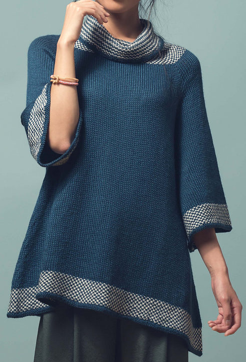 Knitting Pattern for Kaolin Tunic