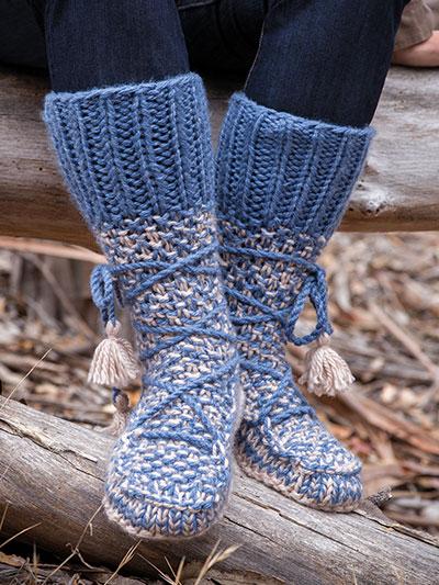 Mukluk Slippers Knitting Patterns Free Korean American Educational