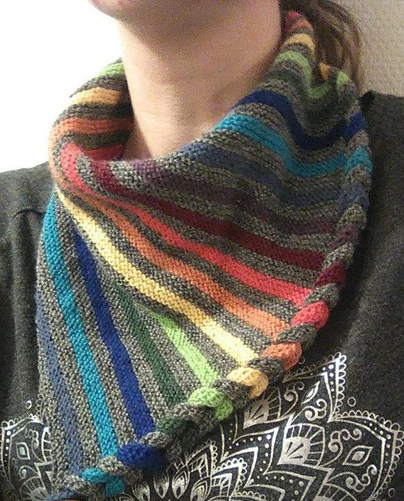 Free Knitting Pattern for DaPunzel Neckwarmer