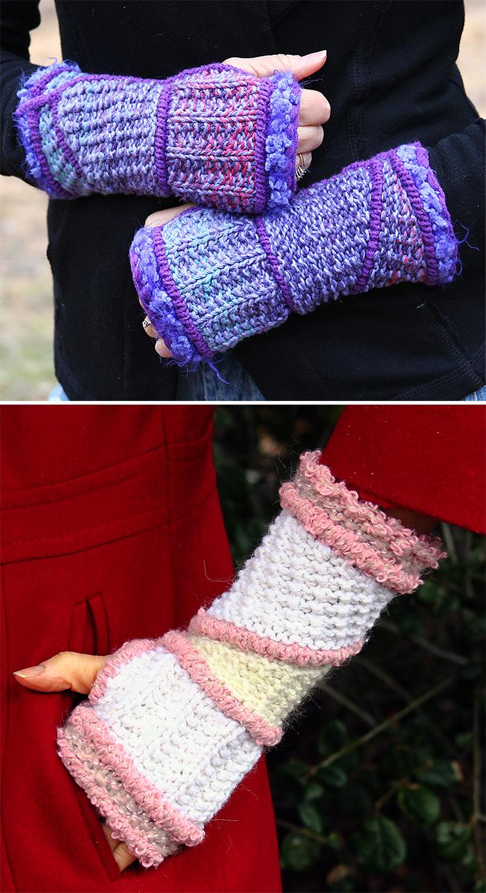 Knitting Pattern for Anguloj Mitts