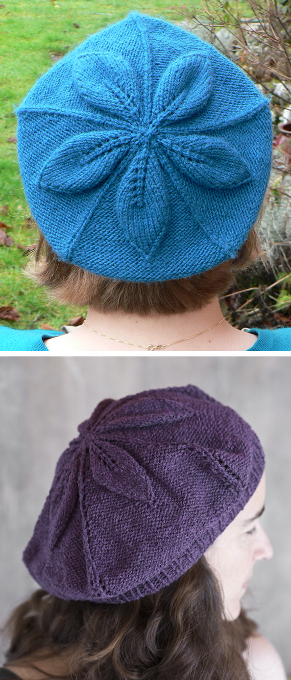 Free Knitting Pattern for Crumpet Beret