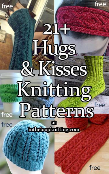 Hugs and Kisses Knitting Patterns
