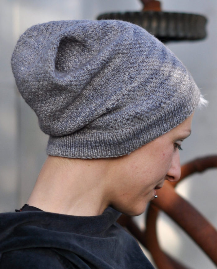 Knitting Pattern for North Lyme Slouchy Hat