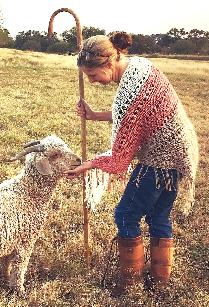 Free until Mar 7, 2018 Knitting Pattern for Pastora Shawl
