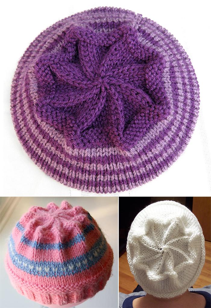 Free Knitting Pattern for Starburst Hat
