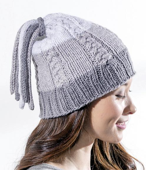 Free Knitting Pattern for Tassel Hat