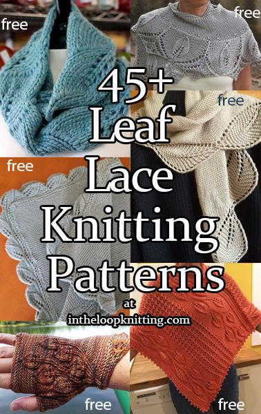 Leaf Lace Knitting Patterns